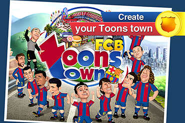 370x247 FCB ToonsTown, smartphone, iphone, android ENG 01