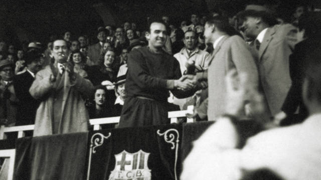 1947. Enrique Fernández as Manager: two consecutive Spanish League victories and the Latin Cup