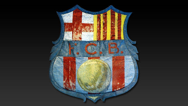 Picture of an early version of the crest that is still used today