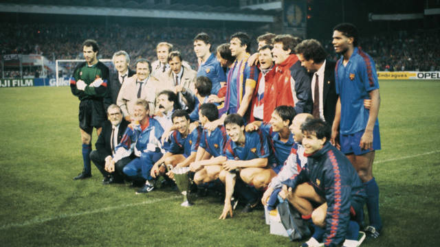 1989. The New Barça and its Third Cup Winners' Cup in Berne