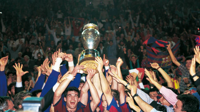 1991. Barça's First EHF Champions League
