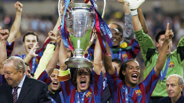 2006. Frank Rijkaard's Barcelona Wins its Second Champions League in Paris