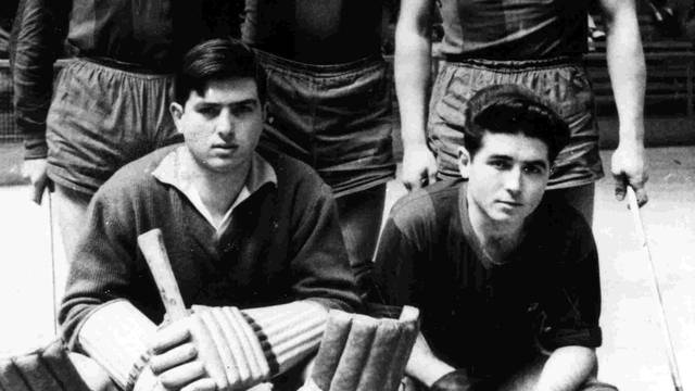 1957-1958 team photo