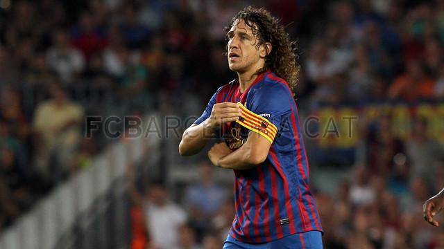 Carles Puyol / FOTO: MIGUEL RUIZ - FCB