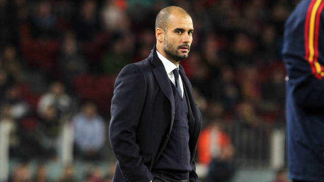 Josep Guardiola / PHOTO: MIGUEL RUIZ - FCB