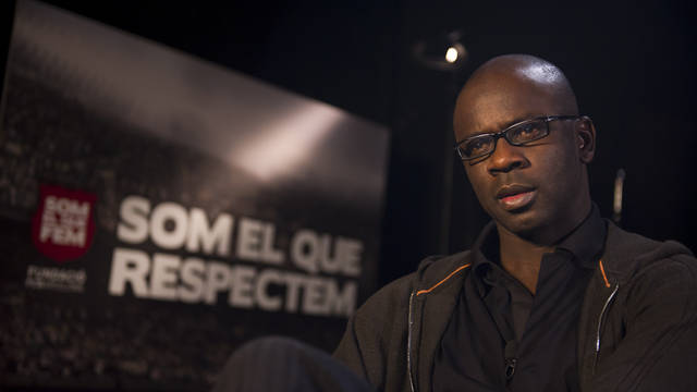 Lilian Thuram / FOTO: LEX CAPARRS - FCB