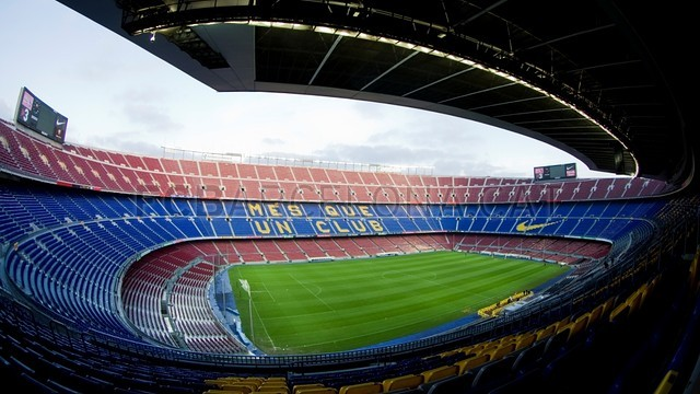 Camp Nou angular