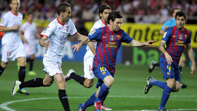 Sevilla-FCB / PHOTO: Miguel Ruiz