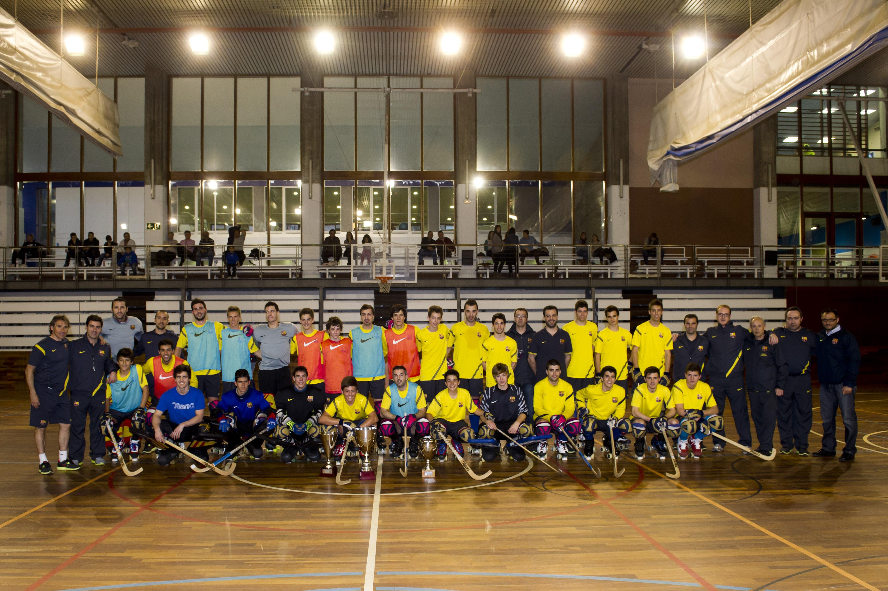 El primer equip amb equips de categories inferiors a les Llars Mundet