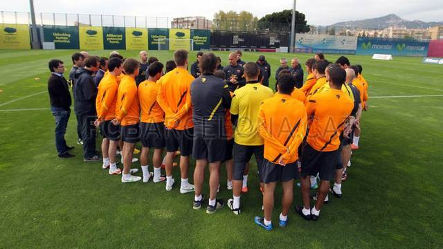 Training session 09/04/2012 / PHOTO: MIGUEL RUIZ - FCB