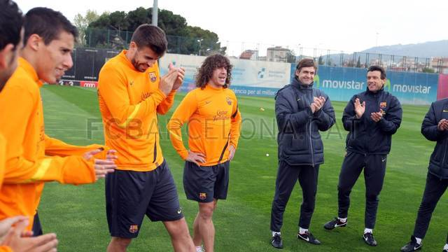 Training session 13/04/2012 / PHOTO: MIGUEL RUIZ -FCB