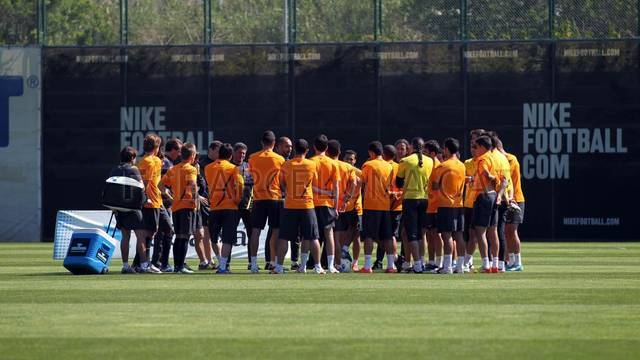 Training session 03/05/2012 / PHOTO: MIGUEL RUIZ - FCB