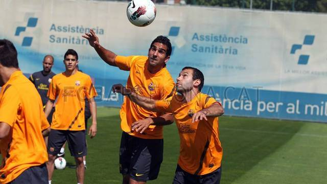 Training session 09/05/2012 / PHOTO: MIGUEL RUIZ - FCB