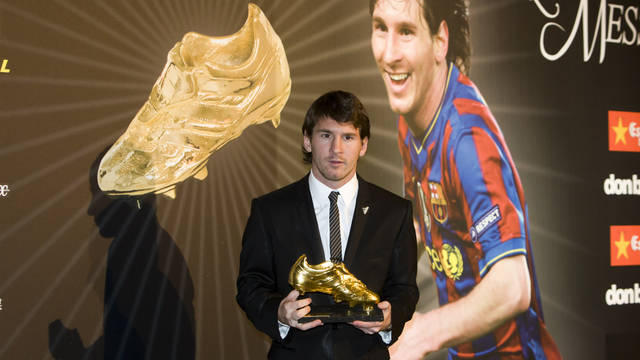 Leo Messi, season 2009/10 / PHOTO: ARCHIVE FCB
