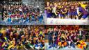 Barça's four professional teams have won 300 titles