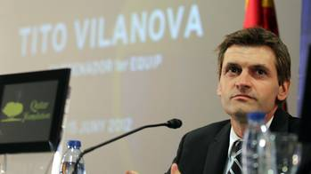 Presentacin de Tito Vilanova