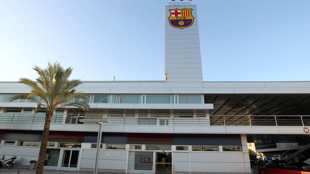 View of the FC Barcelona Medical Services building