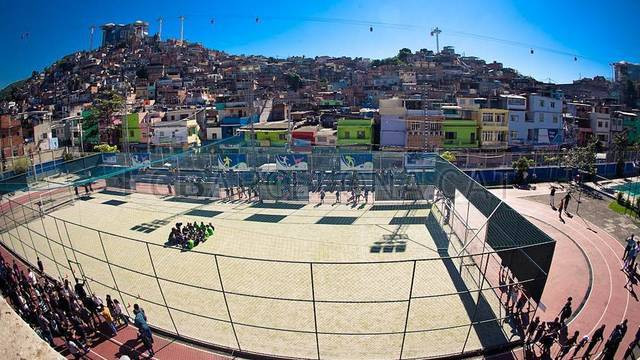 FutbolNet in Rio / FOTO: DIEGO PADILHA