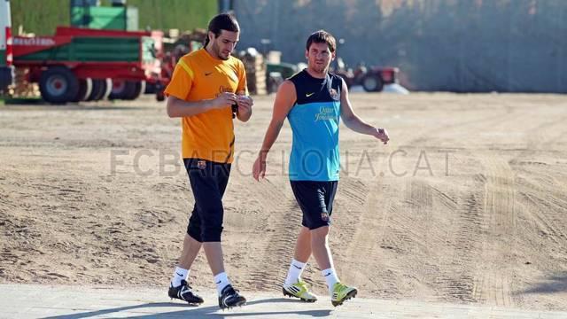 Entrenament 19/07/2012 / FOTO: MIGUEL RUIZ - FCB