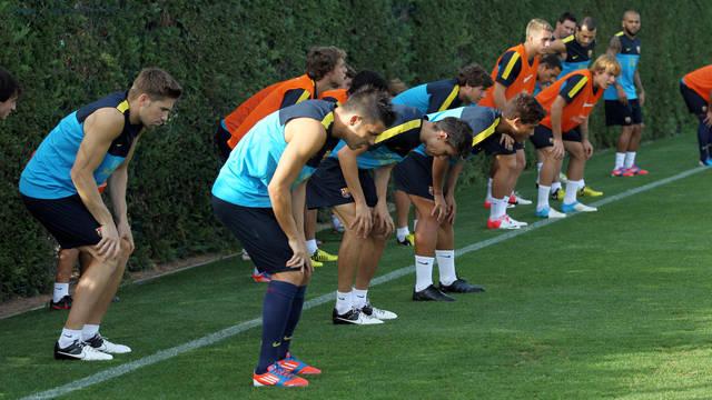 First team training session /PHOTO: MIGUEL RUIZ-FCB