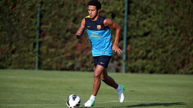 Thiago / PHOTO: ARXIU FCB