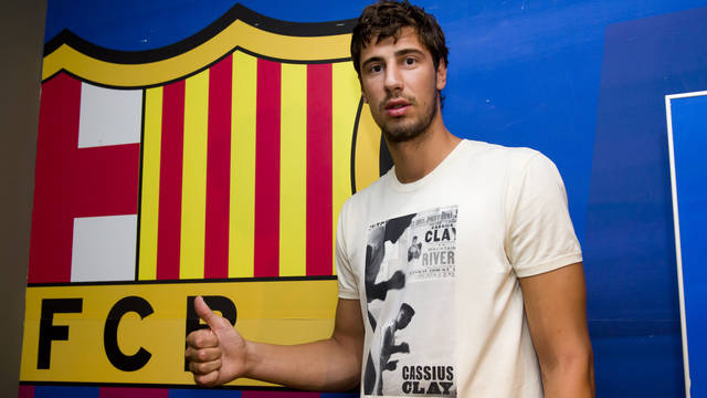 Ante Tomic. PHOTO: ÀLEX CAPARRÓS-FCB.