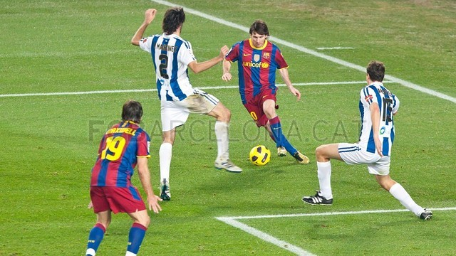 The last two games Barca vs Reial Societat / PHOTO: FILE - FCB