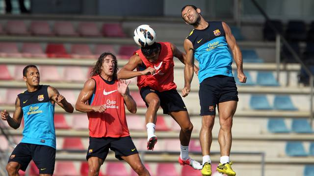 L'equip jugarà aquest diumenge el seu primer partit de Lliga / FOTO: MIGUEL RUIZ-FCB