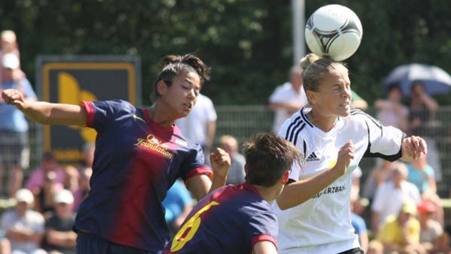 Women's team are defeated in Germany  / PHOTO: www.osthessen-sport.de