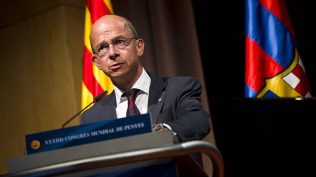 Jordi Cardoner, vicepresident de l'Àrea Social del FC Barcelona / FOTO: ARXIU FCB