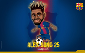 Cartuns de Alex Song