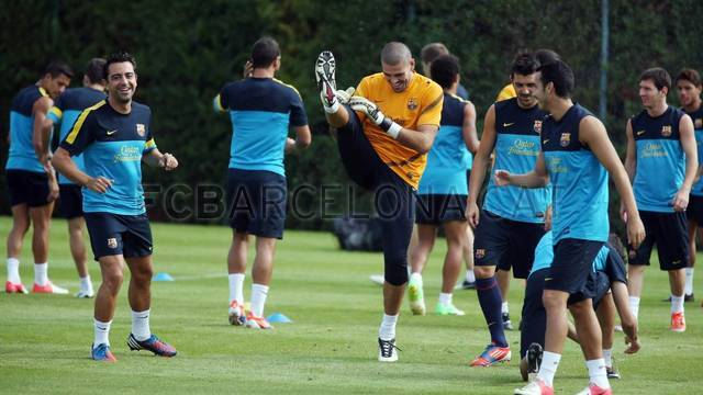 Training session 27/08/2012 / PHOTO: MIGUEL RUIZ - FCB