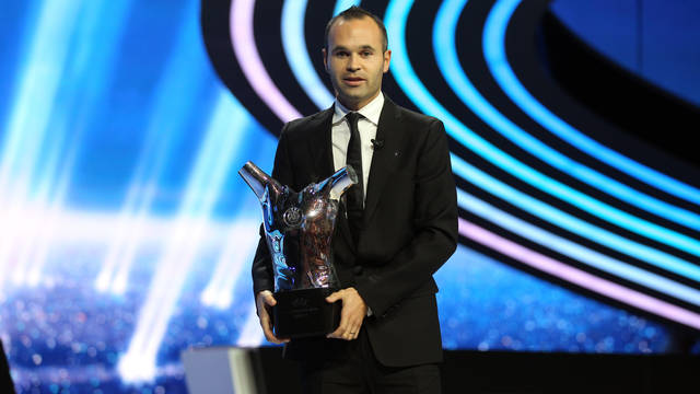 Andres Iniesta, millor jugador d'Europa / FOTO: MIGUEL RUIZ - FCB
