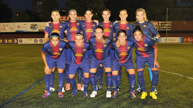 Xavi Llorens' team / PHOTO: FCF