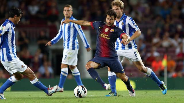 Cesc, at Camp Nou / FOTO: MIGUEL RUIZ - FCB