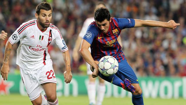 El Barça ya se enfrentó al Milan en los cuartos de final de la temporada pasada / FOTO: ARCHIVO FCB