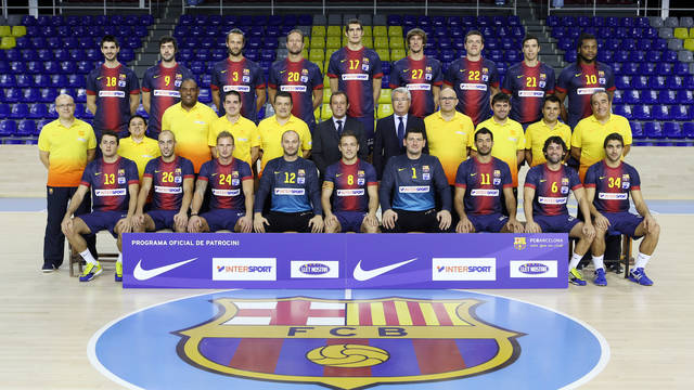 FCB Intersport official photo 2012/13 season / PHOTO: MIGUEL RUIZ - FCB
