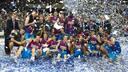 Barça Regal reigning champions of the Endesa Super Cup / PHOTO: ARXIU FCB