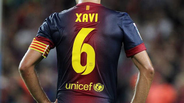 Xavi / PHOTO: ARCHIVE FCB