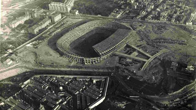 Camp Nou 1957 / PHOTO: FCB ARCHIVES