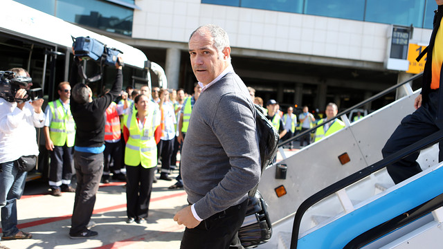Zubizarreta in Lisbon. PHOTO: MIGUEL RUIZ-FCB.