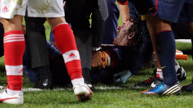 Carles Puyol / PHOTO: MIGUEL RUIZ - FCB