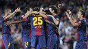 Barça's goal  / FOTO: MIGUEL RUIZ - FCB