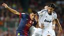 Alexis i Khedira, en el clàssic de Supercopa. FOTO: MIGUEL RUIZ-FCB.
