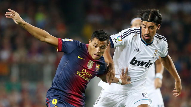 Alexis i Khedira, en el clssic de Supercopa. FOTO: MIGUEL RUIZ-FCB.