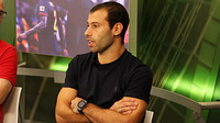 Mascherano on the ''El Marcador' set with Barça TV after the Clásico at the Camp Nou / PHOTO: MIGUEL RUIZ - FCB