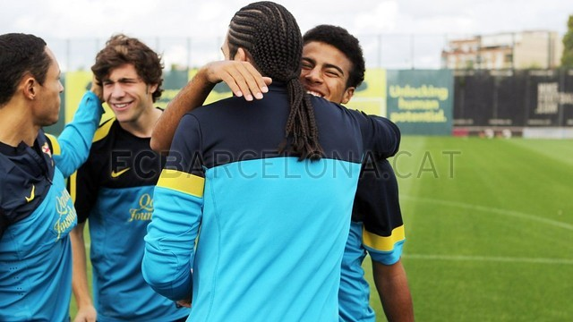Training session 21/10/12 / PHOTO: MIGUEL RUIZ - FCB