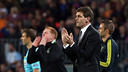 Tito Vilanova during the match against Celtic Glasgow / PHOTO: MIGUEL RUIZ - FCB