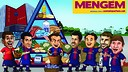 Barça Toons with 'We are what we eat'