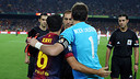Xavi i Casillas, abans del darrer Clssic jugat al Camp Nou / FOTO: MIGUEL RUIZ-FCB